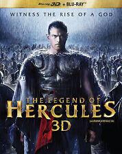 The Legend of Hercules 3D (Blu-ray Disc, 2014, 3D & 2D Versions)