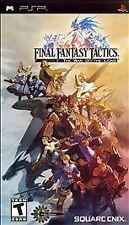 Final Fantasy Tactics The War of the Lions UMD PSP G SONY PLAYSTATION PORTABLE