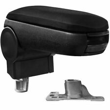 VW PASSAT B5 CENTER CONSOLE ARMREST/ARMREST BLACK LEATHER B5 1996-2000 NEW