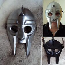 Roman / Greek Gladiator Face Mask For Stage And Costume, Re-enactment Or LARP