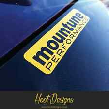 Mountune Sticker Badge Ford Fiesta Focus RS ST Window Splitter Bumper Car Decal