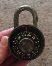 Vintage Slaymaker Combination Lock USA with Combo