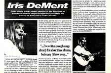 R&R16p16 Article & Picture : Iris Dement