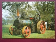 POSTCARD  MCLAREN TRACTION ENGINE 8 NHP BUILT 1882