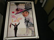 My Fair Lady  30th Anniversary  Rolled  One Sheet   Audrey Hepburn