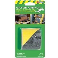 "NEW INCOM RE175 GATOR GRIP 2"" X 5' FOOT ROLL YELLOW BLACK SAFETY ANTI SLIP TAPE"