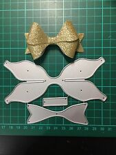 D016 Bow Cutting Die for Sizzix Spellbinders Etc. Machine