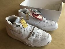 Nike Air Trainer Air 1 Mid SP/Fragment, UK Size 9 (EUR 44), White, Brand New
