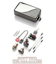 EMG 89R CHROME HUMBUCKER DUAL COIL & SINGLE COIL MODE ( FREE WORLDWIDE SHIPPING)