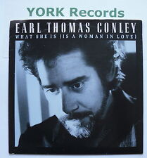 "EARL THOMAS CONLEY - What She Is (Is A Woman In Love) -Ex 7"" Single RCA PB 49537"
