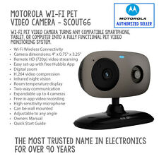 Motorola Wi-Fi Pet Video Camera - SCOUT66 Monitor your pets from anywhere