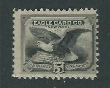 RU7d, 5 cent Eagle Card Co., Private Die  Playing Cards,  Match and Medicine