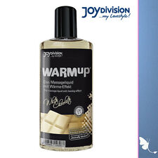 Olio da massaggio al cioccolato bianco Warmup massage Oil with white chocolate