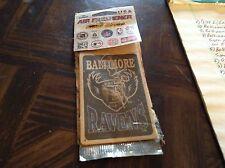 Baltimore ravens old logo air freshener