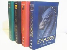 INHERITANCE CYCLE COLLECTION by  CHRISTOPHER  PAOLINI  - FOUR VOLUME HCDJ SET