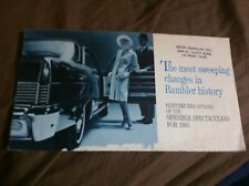 1965 RAMBLER AMERICAN CLASSIC AMBASSADOR  ACCESSORIES OPTIONS BROCHURE PROSPEKT