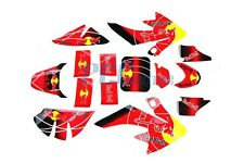 HONDA CRF50 3M GRAPHICS DECAL STICKERS SDG SSR 107 110 125 BIKE V DE11