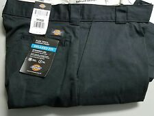 Dickies WP598BK Black Work Pants w/ Cell Phone Pocket Relaxed Fit