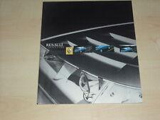 57943) Renault Avantime Prospekt 09/2001