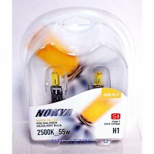 Nokya Hyper Yellow H1 Pro Halogen Headlight Fog Light Bulb 2500K Stage 1 NOK7617