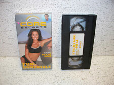 Core Secrets with Brooke Burke Workout VHS Video Out of Print