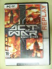 ACT OF WAR DIRECT ACTION - videogioco PC Gioco per Computer
