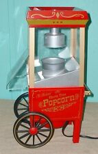 Nostalgia Popcorn maker electric replica heavy plastic model number 207226