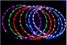 24LED lights glow in the hula hoop90cm