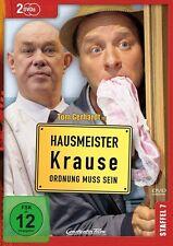 HAUSMEISTER KRAUSE STAFFEL 7 - ORDNUNG MUSS SEIN  - TOM GERHARDT - 2 DVD NEU