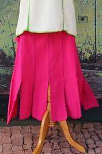 Feminine & Flirty Pink Skirt hand made Oaxaca Mexico Hippie Boho Santa Fe Style