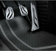 BMW OEM M Performance Stainless Steel MANUAL Pedal Covers F30 F10 35002232276