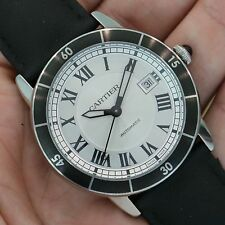 Cartier Ronde Croisiere Stainless Steel Silver Dial WSRN0002