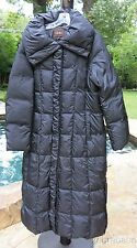 Cole Haan Puffer Coat w Hood Black Size L Large NWT $475