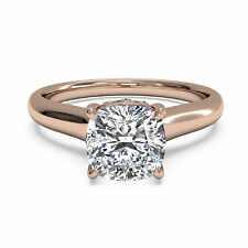 Ebay 14kt Rose Gold Rings Diamond Wedding Engagement Ring 2.06Ct Diamond Rings