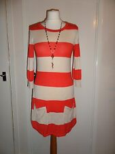NEW Designer Warehouse Stripe Hem Dress Size UK 6-8 RRP £40