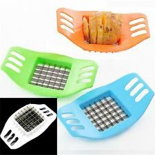 New Potatoes Cutter Cut into Strip French Fries Tool Kitchen Gadget 3 Colors BO