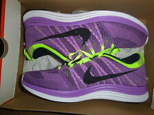 Brand New Deadstock Nike Fly Knit Flyknit Lunar 1+ Purple Sneakers Trainers UK9