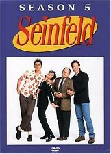 Seinfeld Season 5 (2005) Jerry Seinfeld, Jason Alexander, Julia Louis NEW R2 DVD