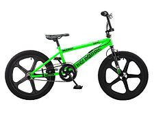 Rooster Big Daddy 20 BMX Green/Black with Skyway Mag Wheels RRP £239.99
