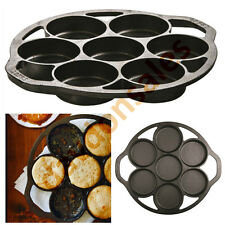 Biscuit Tin Lodge Cast Iron Pan Muffin Seasoned Mold Bread Brownie Cake Cookie