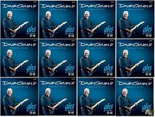 GHS GB-DGF David Gilmour Signature Series Blue Electric Guitar Strings 12 PACK