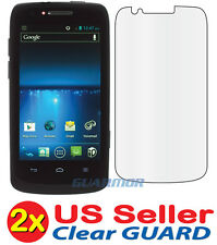 2x Clear LCD Screen Protector Cover Guard Film for ZTE Sprint Force N9100