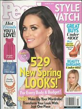 People Style Watch magazine Katy Perry Chic bags Jewelry Heels Beauty bargains