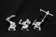 Warhammer RARE Orc Big 'Uns command  (metal) 1996