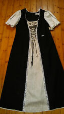 Trachtenkleid Dirndl von Spieth & Wensky Landhauskleid  Gr.50 lang NEU Leinen