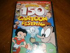 Ultimate 150 Cartoon Festival (DVD, 2007, 3-Disc Set)