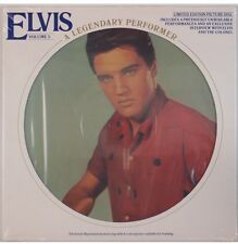 ELVIS PRESLEY A Legendary Performer Vol. 3 1978 RCA CPL1-3078 LP PICTURE DISC