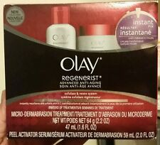 Olay Regenerist Anti-Aging Microdermabrasion Kit New