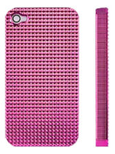 PINK Ultra Light Hard Case for Apple iPhone 4 4S Diamond with Screen Protector