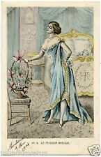 ILLUSTRATEUR. A. MULLER.CHARME.LINGERIE.éROTIQUE CHARM. N° 3 LE PEIGNOIR ANTIQUE
